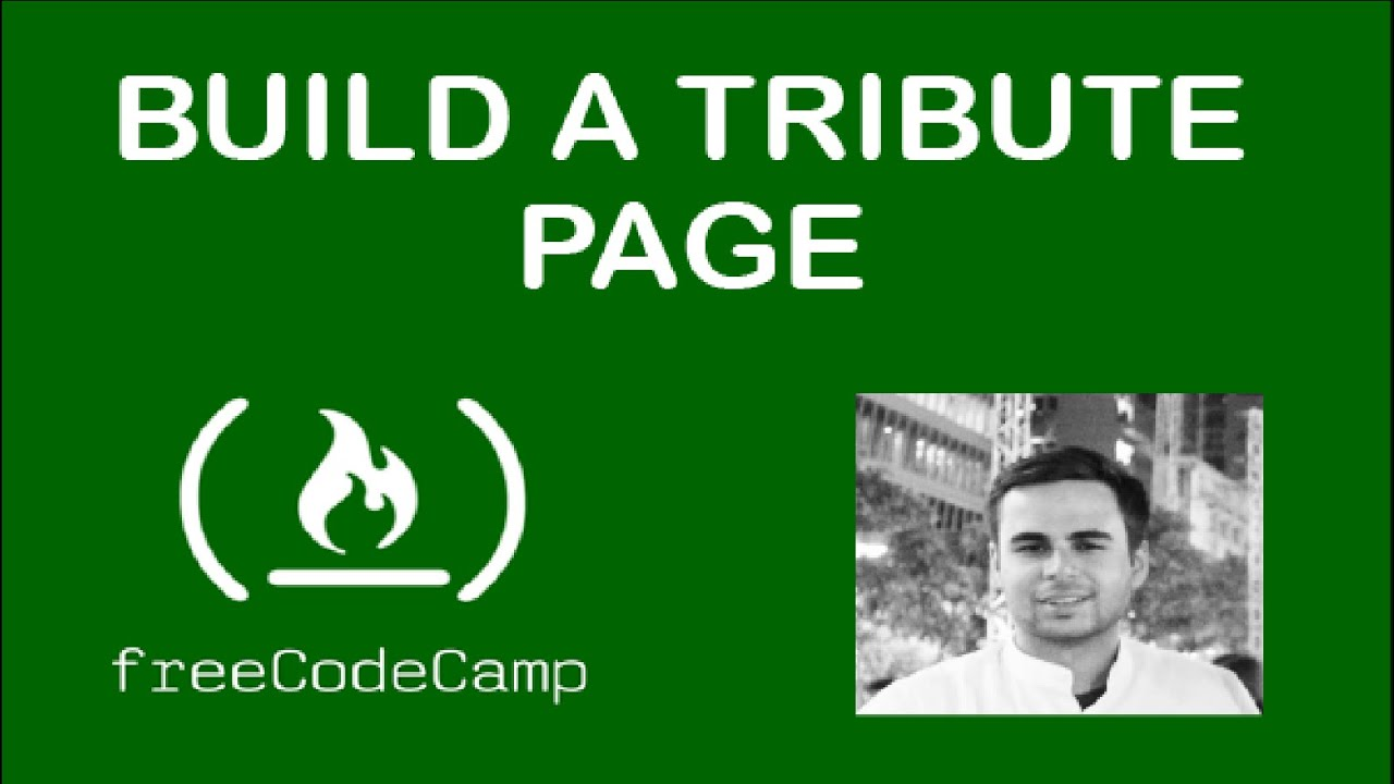 Build a Tribute Page (freecodecamp.org)