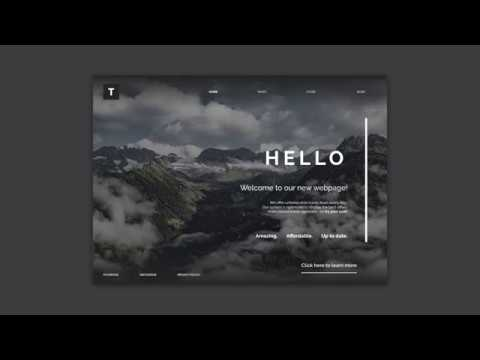 Speedart – Power of lines in webdesign